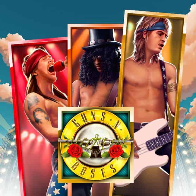 Nur bei Mr Green: Guns N Roses + €350 Bonus sichern