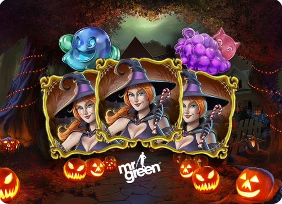 play halloween themed slot