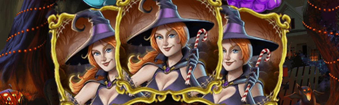 slot with halloween theme