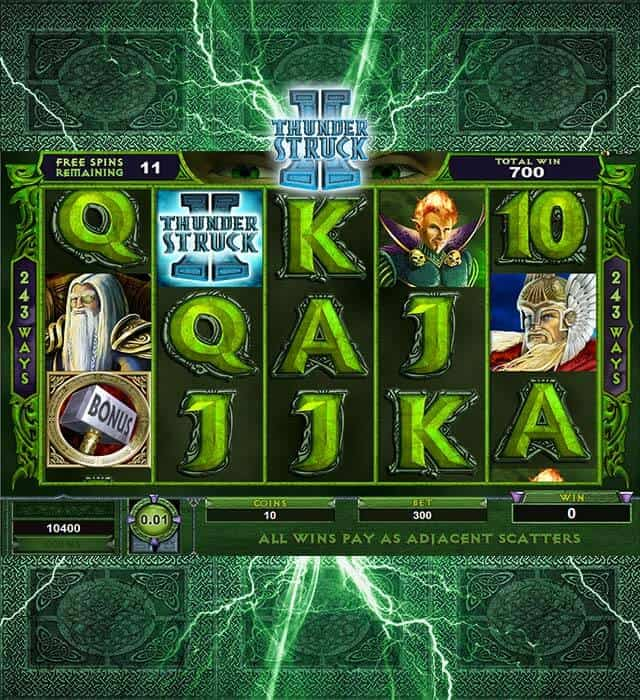Up to £100 Bonus! Play Thunderstruck II Slot at Mr Green