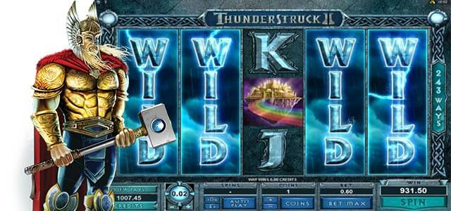 Up to €350 Bonus! Play Thunderstruck II Slot at Mr Green