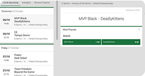 Difference mvp black & deadlykittens