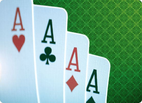 four aces poker