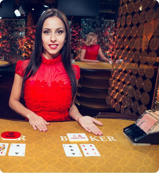 Play Live Baccarat