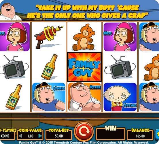 Fernsehserien und Spielautomaten